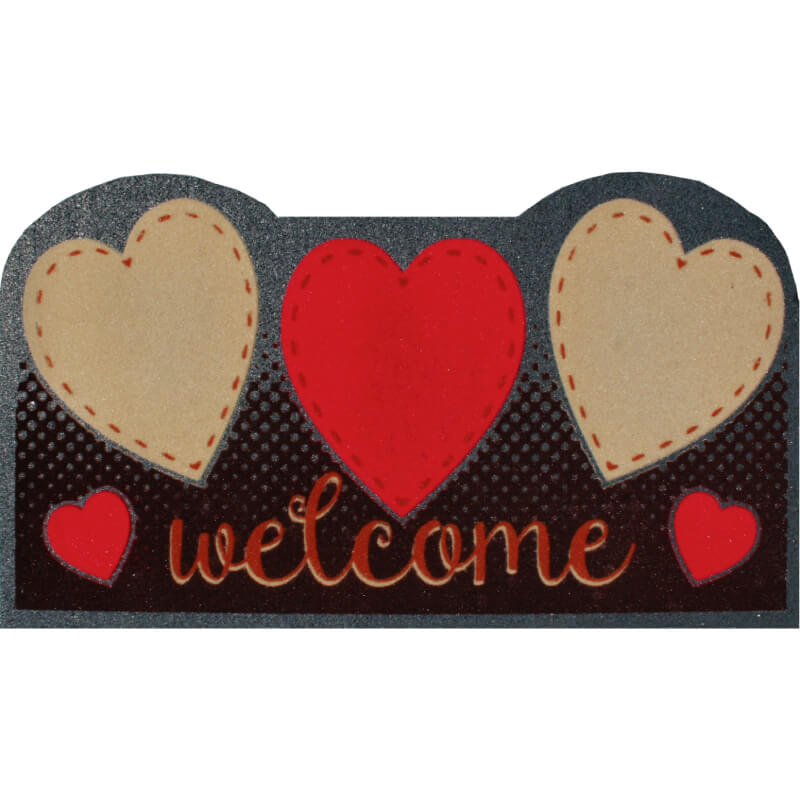 Entrance Mat of Rubber 40x70 cm