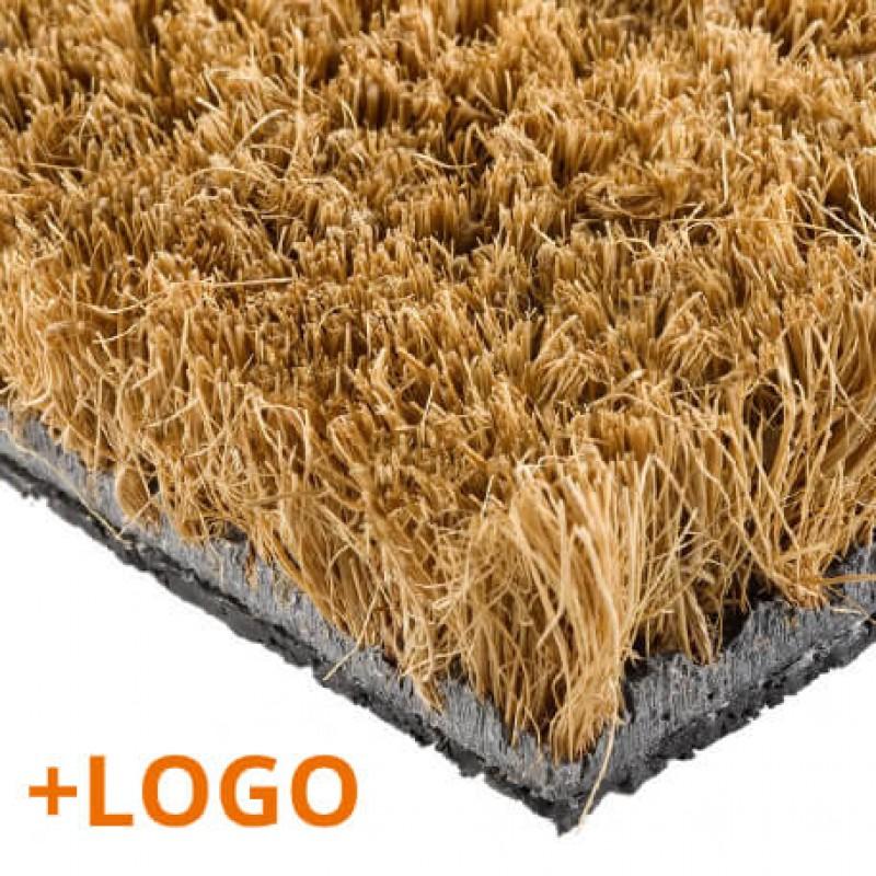 Doormat with Logo Cocco Mosaic
