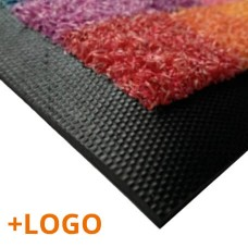 Doormat with Logo Lux Turf