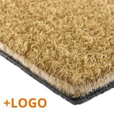 Doormat with Logo Moquette Mosaic