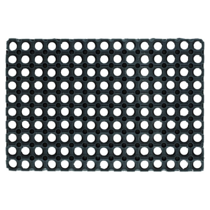 Rubber Flooring Gummy (with drainage holes )100x150 cm