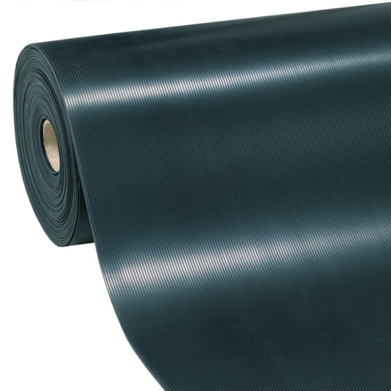Rubber Flooring by metre Righe Piatte