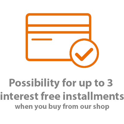 INTEREST FREE INSTALLMENTS