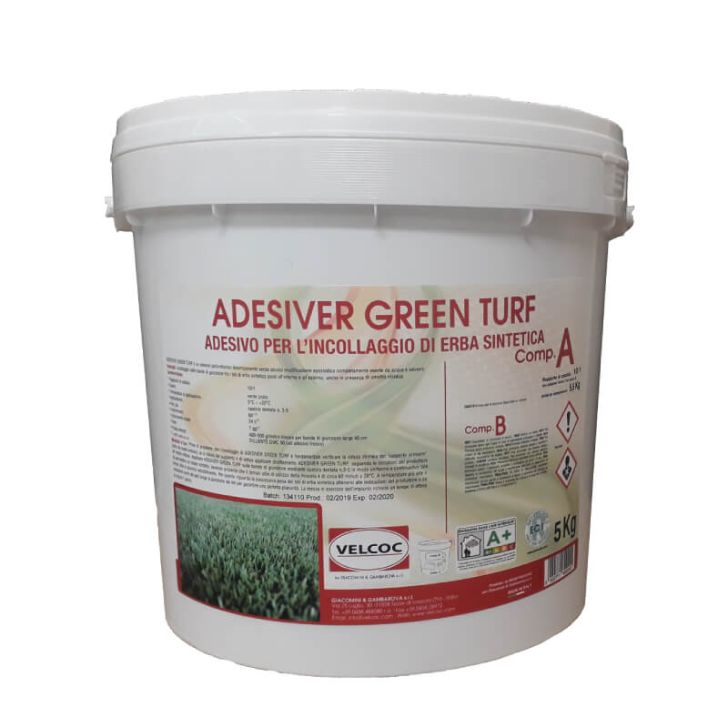 Polyurethane Adhesive 5 kg (Two-component) - Green Color